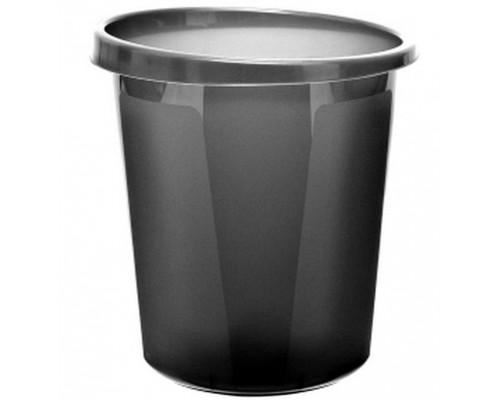 Корзина для бумаг 9 литров Серая