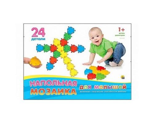 Мозаика напольная для малышей 24 детали М-5032
