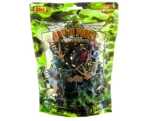 Набор пластиковый Армия 171-7 пакет
