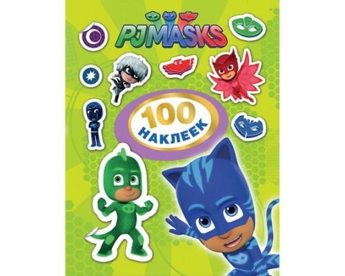100 наклеек Герои в масках (зеленый)