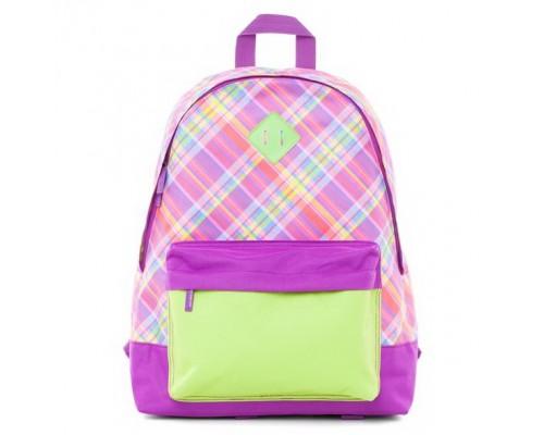 Рюкзак BASIC Шотландка для девочки, старшая школа