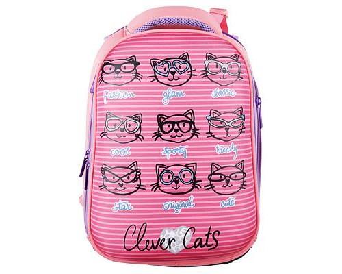 Рюкзак Clever cats для девочки, начальная школа