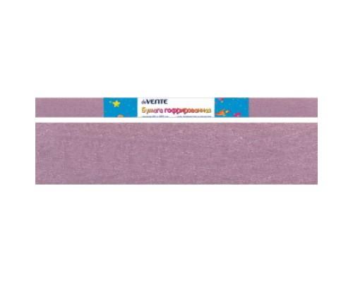 Бумага крепированная deVENTE 22 г/м, 50x250см. светло-сиреневая перламутрова