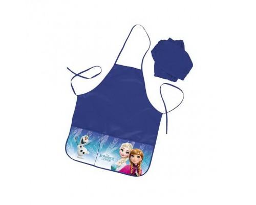 Фартук Hatber с двумя карманами -Холодное сердце для девочки