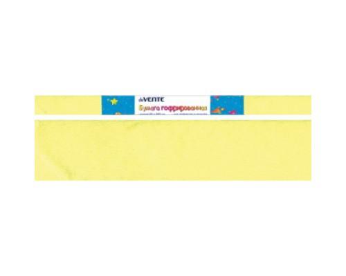 Бумага крепированная deVENTE 22 г/м, 50x250см., желтая неоновая