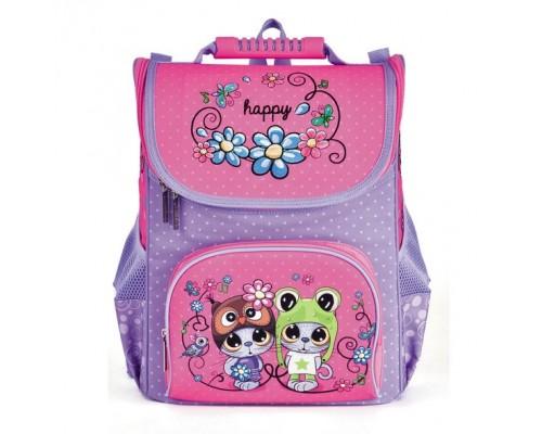 Рюкзак BALANCE Друзья-мультяшки для девочки, начальная школа
