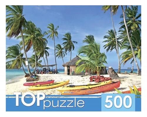ПАЗЛ 500 элементов Лодки на острове КБТП500-6803