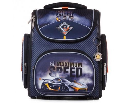 Рюкзак COMPACT PLUS Super car для мальчика, начальная школа