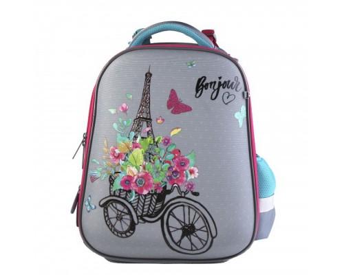 Рюкзак ERGO First Paris 28*36*14 для девочки, начальная школа