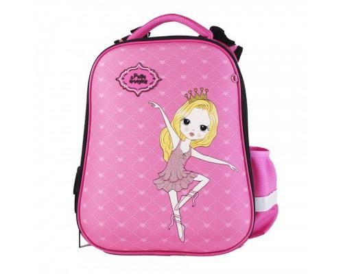 Рюкзак ERGO First Принцесса 28*36*14 для девочки, начальная школа