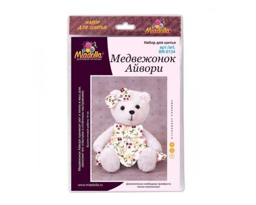 """Набор для изготовления игрушек """"Miadolla"""" Медвежонок Айвори"""