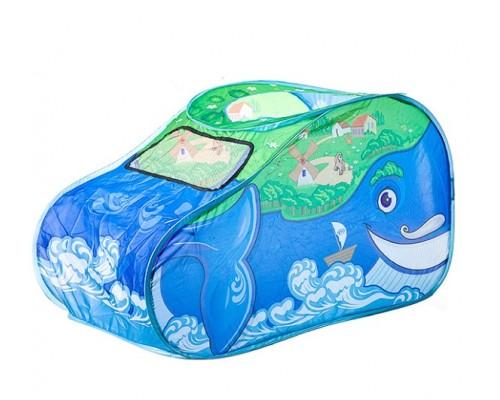 Домик-палатка Чудо-юдо Рыба-кит, в сумке на молнии 30х4х30 см,M7119