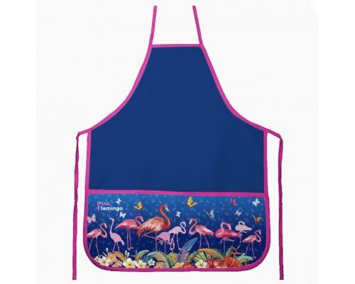 Фартук deVENTE. Flamingo 45x54 см (M), 3 кармана с рисунком, для девочки