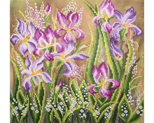 "Алмазная мозаика ""Весенний аромат"" 34.5 х 35 см"